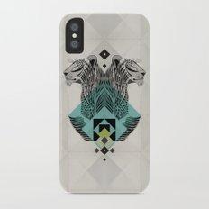 Blue Leopard Slim Case iPhone X