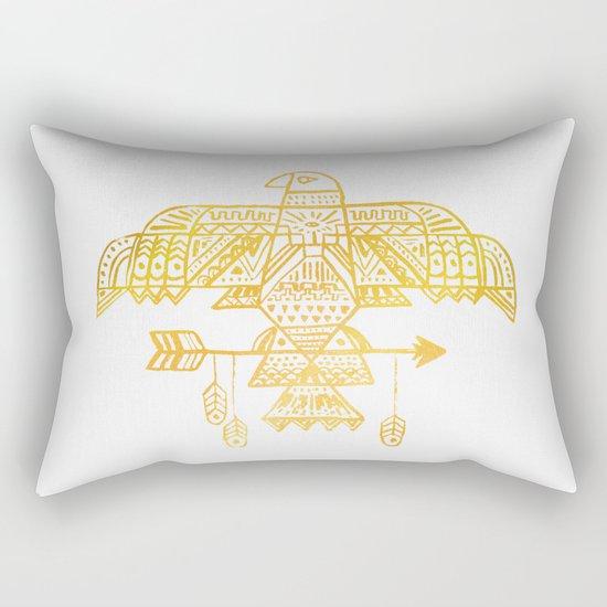Hawk Eye Rectangular Pillow