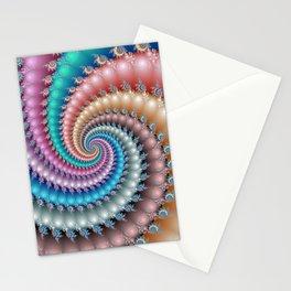 Fractal Mandelbrot Spyral Stationery Cards