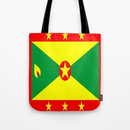 Grenada country flag Tote Bag