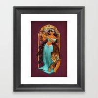 Let Your Heart Decide Framed Art Print