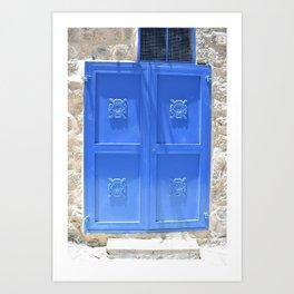 Israeli Door Art Print