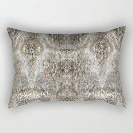 snake skin pattern / animal print Rectangular Pillow
