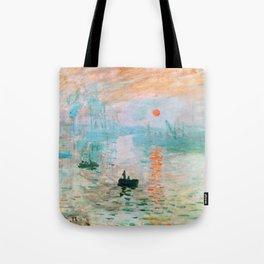 Impression, Sunrise - Digital Remastered Edition Tote Bag