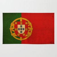 portugal Area & Throw Rugs featuring Portugal by NicoWriter