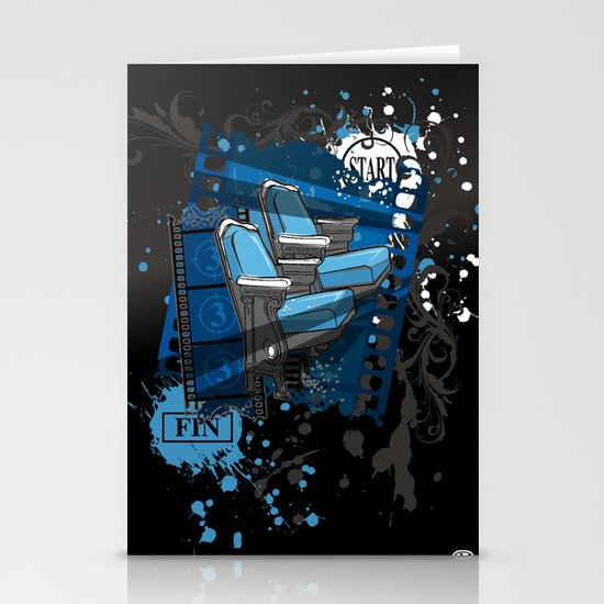 ALONE IN THE DARK Stationery Cards