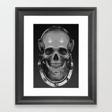 Black fathoms 2 Framed Art Print