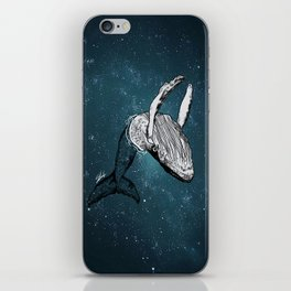 the universe wall iPhone Skin