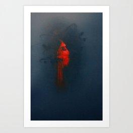 Cardinals & Drones Art Print