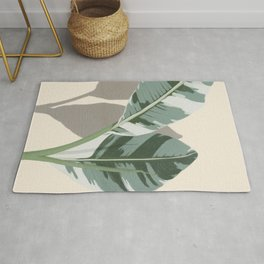 Banana Leaves Rug