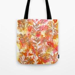Leaves Texture 01 Tote Bag