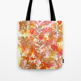 Leaves Texture 01 Tote Bag