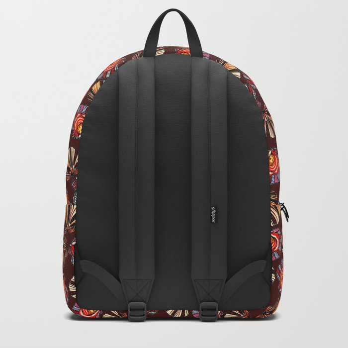 Swedish Waters: Clams Red Backpack