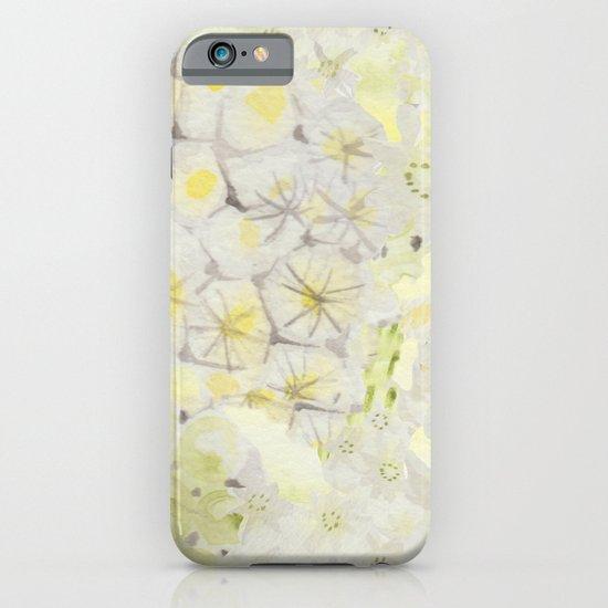 Lemon Abstract iPhone & iPod Case