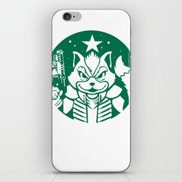 Starfox Coffee iPhone Skin