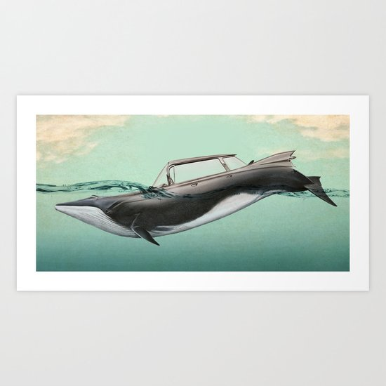 The De Ville of the sea Art Print