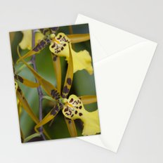 Sunny Orchid Stationery Cards