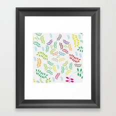 ORGANIC & NATURE (COLORS) Framed Art Print