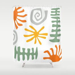 Coral Reef 01 Shower Curtain