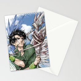 """""""They can't break my wings of freedom"""" Stationery Cards"""