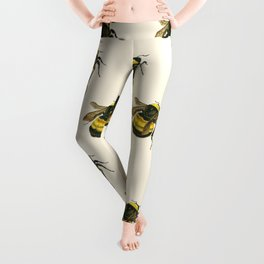 Vintage Scientific Bee Leggings