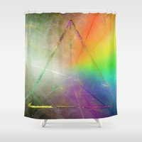 prism Shower Curtains featuring Prism by Randomleafy