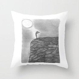 I need the Moon & the Moon needs Me Throw Pillow