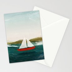 The Boat that Wants to Float Stationery Cards