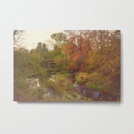 Wadsworth Falls State Park Metal Print
