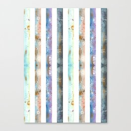 Watercolor Abstract Art Canvas Print