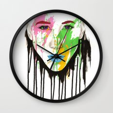 I C U Wall Clock
