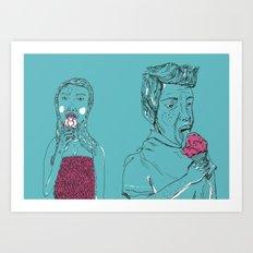 Ice Cream? Art Print