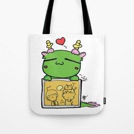 Kuma the dragon Tote Bag