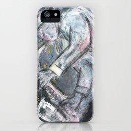 Jazz Player iPhone Case