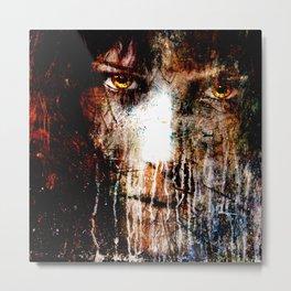 Nights Eyes Metal Print