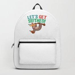 Let's Get Slothed Drunk Cinco De Mayo For Fiesta Backpack