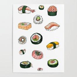 Sushi Set Poster