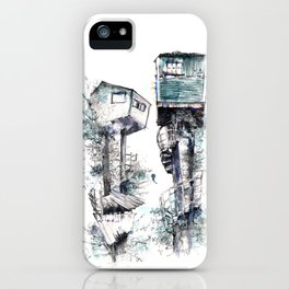 Treehouses iPhone Case