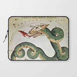 Draco and Ursa Minor Laptop Sleeve