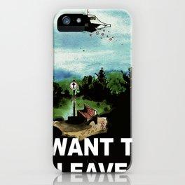 beLEAVEing iPhone Case
