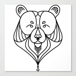 Black Bear Two Canvas Print