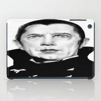 dracula iPad Cases featuring Dracula by Leyla Buk