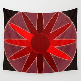 flow of red Wall Tapestry