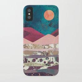 Magenta Mountain iPhone Case