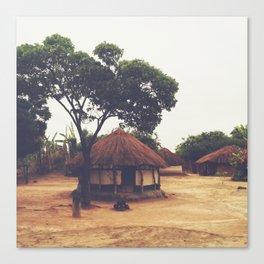 Village in Zambia Canvas Print