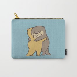 Otter Hugs Carry-All Pouch