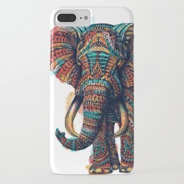 Ornate Elephant (Watercolor) iPhone Case