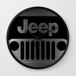 jeep logo Wall Clock