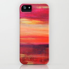 The Golden Lining iPhone Case