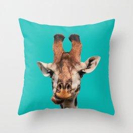 Gee Raffe the Giraffe Throw Pillow
